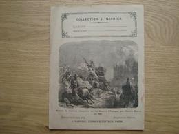 PROTEGE-CAHIER COLLECTION J. GARNIER HISTOIRE DE FRANCE - Omslagen Van Boeken