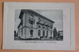 Luxeuil Les Bains - Hotel Métropole - Luxeuil Les Bains