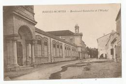 30 Gard Aigues Mortes Boulevard Gambetta Et L'hopital Ed Benevis Nimes - Aigues-Mortes
