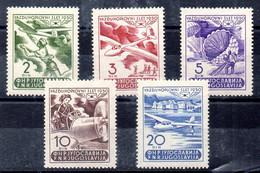 Yugoslavia Serie Aéreo N ºYvert 27/31 * OFERTA (OFFER) - Poste Aérienne