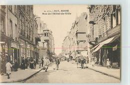 10504 - RIOM - RUE DE L HOTEL DE VILLE - Riom