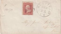 "ETATS - UNIS : OBL . "" SUFFIELD "" . 1861/63 . - 1845-47 Emissioni Provinciali"