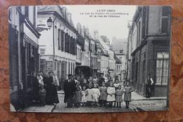 SAINT-OMER (62) - LA RUE DU COMTE-DE-LUXEMBOURG ET LA RUE DU CHATEAU - (ETAT) - Saint Omer