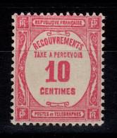 Taxe YV 56 N* Cote 3 Euros - 1859-1955 Postfris