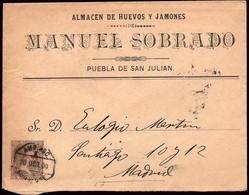 """España - Edi O 219 - Carta Mat Ambulante """"Amb Asc 3 - Noroeste"""" - Cartas"""