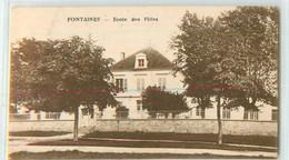 31155 - FONTAINES - ECOLE DES FILLES - Non Classificati