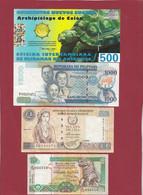 Iles Du Monde 10 Billets Dans L 'état (Iles Galapagos 500 Nuevos Sucres 2009 ---UNC) Lot N °3 - Non Classés