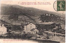 FR66 ARLES SUR TECH - Seguela 72 - Mines De Fer De BATERE - Trémie De Réception Du Minerai En Gare - Train Wagons  Belle - Andere Gemeenten