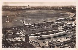 "12483""BERLIN ZENTRALFLUGHAFEN (1938)""-VISTA AEREA-VERA FOTO-CART. NON SPED. - Vliegvelden"