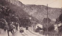 EZE - Route De La Petite Corniche - La Gare Et Station Du Tram - Eze