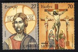 Serbia - 2021 - Easter - Mint Stamp Set - Serbia