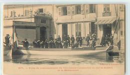 19746 - TOULON - PRISE DE COMMANDEMENT DU VICE AMIRAL COMMANDANT EN CHEF DES ESCADRES - Toulon