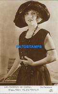 161653 ARTIST MARY MILES MINTER US ACTRESS CINEMA MOVIE SILENT MUTE POSTAL POSTCARD - Artisti