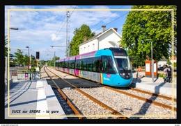 44  SUCE  Sur  ERDRE    ....  La  Gare - Andere Gemeenten