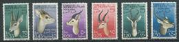 Somalie Italienne Poste Aérienne YT N°53/58 Antilopes Neuf ** - Somalië