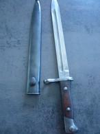 BAIONNETTE CHILI M1895 - Blankwaffen