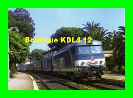 ACACF 171 - Train Le MISTRAL - Loco BB 67000 En Gare - JUAN LES PINS - Alpes Maritimes - SNCF - Trains