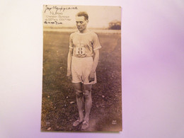 GP 2021 - 122  Carte Photo De NURMI  Champion Olympique  1924   XXXX - Finlandia