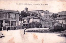 42 - Loire -  PELUSSIN - Quartier De La Gare - Pelussin