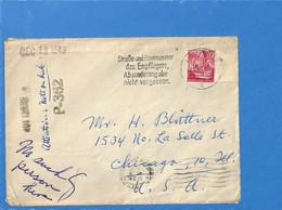 Allemagne Zone Française 1949 Lettre De Mainz Aux États-Unis (G2036) - Zona Francesa