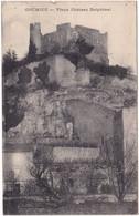 Isère : CREMIEU : Vieux Château Delphinal :  Au Dos Timbre - Vert 8é Olympiade 1924 - Crémieu
