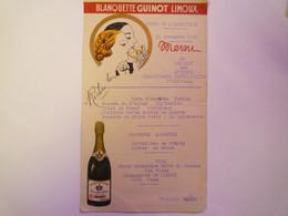 GP 2021 - 127  ESPERAZA (Aude)  :  MENU De 1936 Pour Le Banquet Des Combattants Républicains D'Espéraza   XXXX - Menu