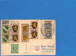 Allemagne Zone Française 1947 Postkarte De Sackingen (G2045) - French Zone
