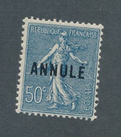 FRANCE - COURS D INSTRUCTION N°161-CI 2 NEUF* AVEC GOMME ALTEREE - 1923 - COTE : 105€ - Cursussen
