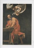 Caravaggio - San Matteo E L'Angelo - Saint Mathieu Et L'Ange (Saint Louis Des Français) Michelangelo Merisi Da Caravaggi - Malerei & Gemälde