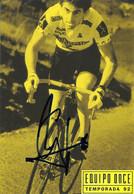 CARTE CYCLISME MARINO LEJARRETA TEAM ONCE 1992 - Cycling