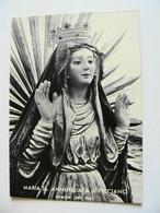 MARIA SS. ANNUNZIATA DI PICCIANO MATERA   MADONNA  NON  VIAGGIATA  COME DA FOTO - Virgen Mary & Madonnas