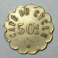 Nantes - Café Du Cycle - 50 Centimes - Monetari / Di Necessità