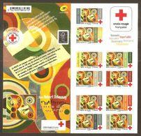 2020 Carnet Adhésif  BC 1863 -  Croix Rouge -10 Timbres - NEUF - LUXE ** NON Plié - Croce Rossa