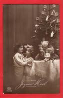 CHRISTMAS NOEL   DOLL  POUPEE   TEDDY BEAR OURS EN PELUCHE  TREE TOYS   RP  Pu 1912 - Giochi, Giocattoli
