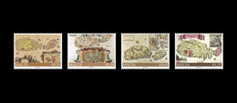 2021 Malta SEPAC  Historical Maps Of Malta SET OF FOUR STAMPS MNH VF SG2168/2171 - Malta
