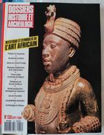 [ ART AFRICAIN ] Dossiers Histoire Et Archéologie Sept. 1988. Bénin, Congo, Nigeria, Paléomonnaies. - Archeology