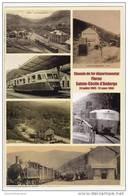 CPM -  Chemin De Fer Départemental FLORAC - SAINTE-CECILE-D'ANDORGE - Carte Commémorative, Vues Multiples - Autres Communes