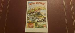 Ancienne Carte Postale - Chemin De Fer PLM - Le Jura - J.Barreau Paris - Andere Illustrators