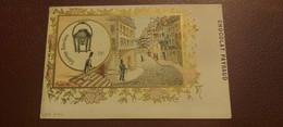 Ancienne Carte Postale - Chocolat Payraud - L'histoire De L'eclairage - Reverbere N°10 1er Serie - Advertising