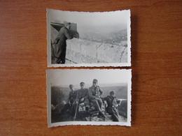 BESANCON WW2 GUERRE 39 45 MILITARIA CITADELLE SOLDATS ALLEMANDS VUE EN HAUTEUR - Besancon