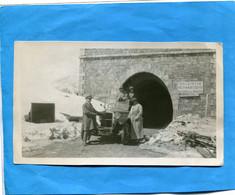 AUTO PHOTO--gros Plan- Sortant Du Tunnel  Du Galibier   En 1923-beau Modèle à Identifier - Passenger Cars