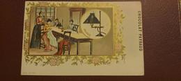 Ancienne Carte Postale - Chocolat Payraud - L'histoire De L'eclairage - Gaz Bec Auer N°11 2me Serie - Advertising