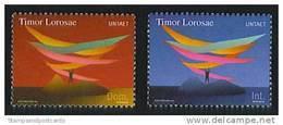 Timor Oriental UNTAET Mission Nations Unies ** East Timor UNTAET UN Mission 2000 ** Portugal Post - Timor Orientale