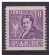 CHEMISTRY CHEMIE CHIMIE BERZELIUS SWEDEN SCHWEDEN SUEDE 1939 MNH  MI 272 - Chemistry