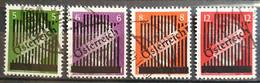Österreich 1945, Aushilfsausgabe Mi 668-71 Gestempelt - 1945-60 Used