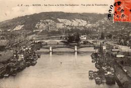 76 Rouen Les Ponts Et La Côte Ste Catherine - Rouen