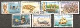 Caicos  Island   1983  SG  15-21  Local Industries  Unmounted Mint - America (Other)