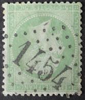 20 (cote 10 €) Obl GC 1454 Evreux (26 Eure ) Ind 1 ; Frappe Très Nette - 1849-1876: Classic Period
