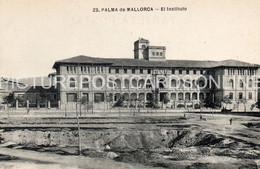 MALLORCA PALMA DE MALLORCA EL INSTITUTO OLD B/W POSTCARD MAJORCA VINTAGE MALLORCA - Mallorca