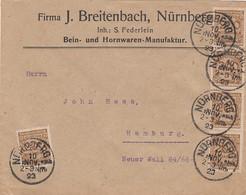Deutsches Reich Brief INFLA 1920-23 - Briefe U. Dokumente